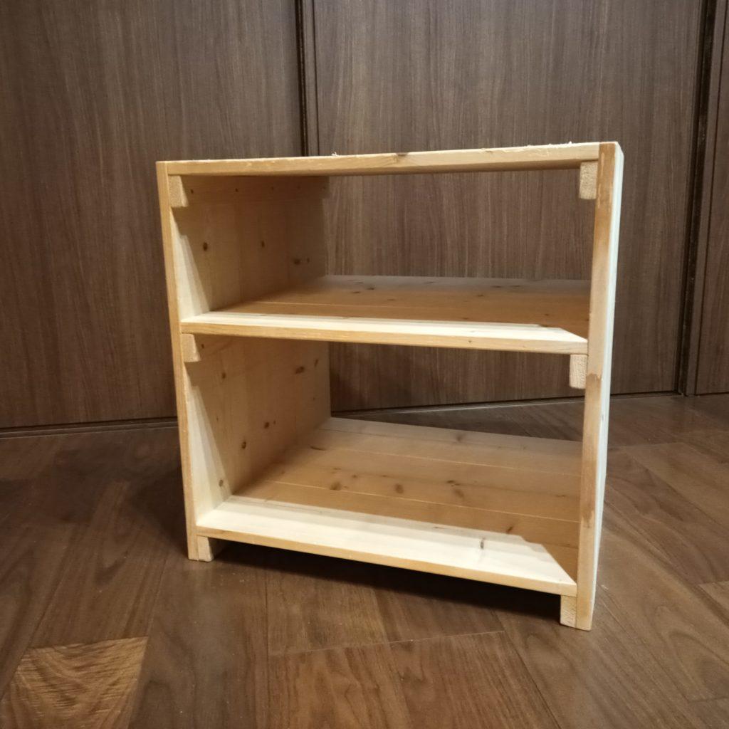 木工DIYで作った棚