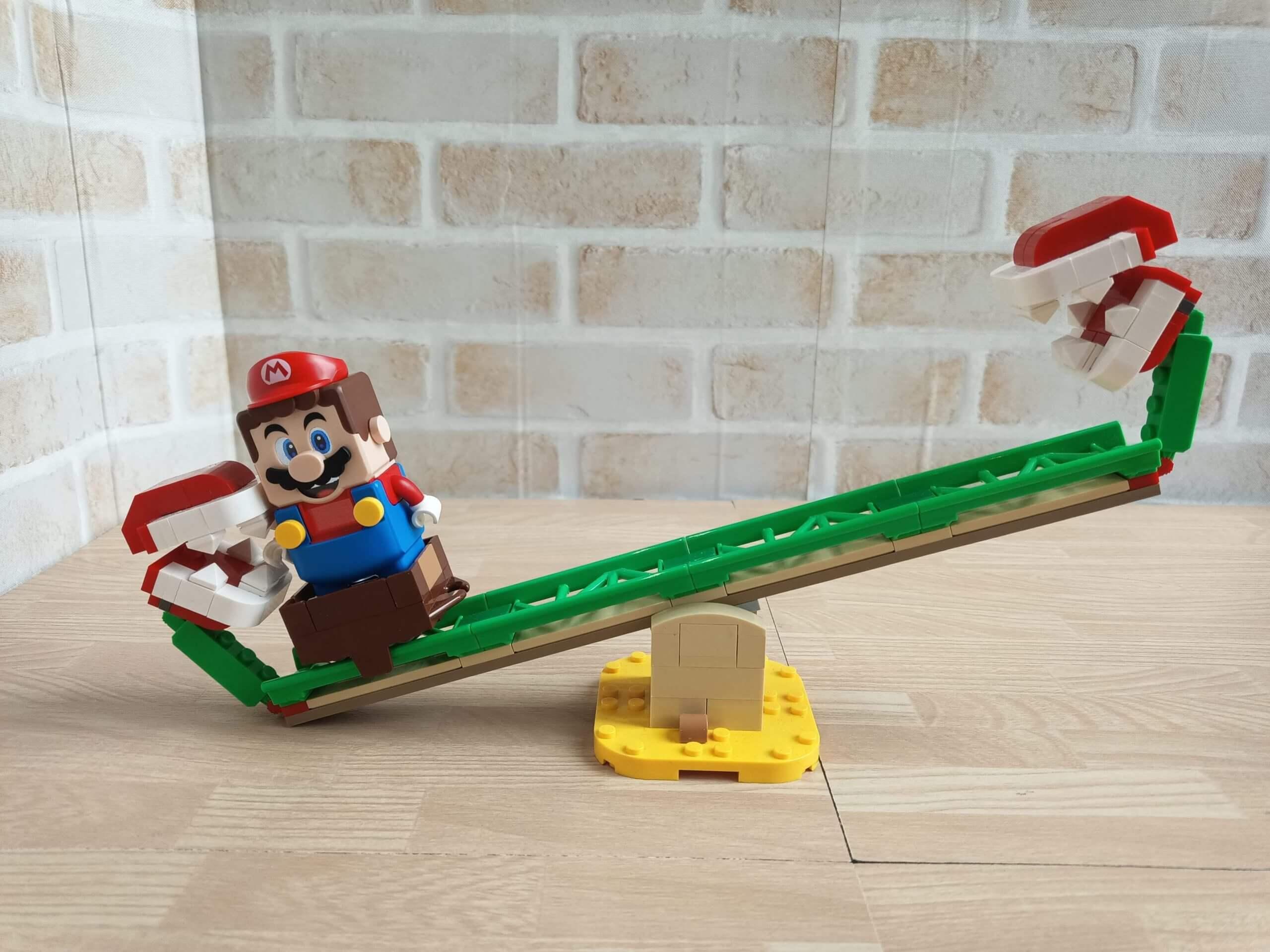 LEGOスーパーマリオ パックンフラワーのシーソー