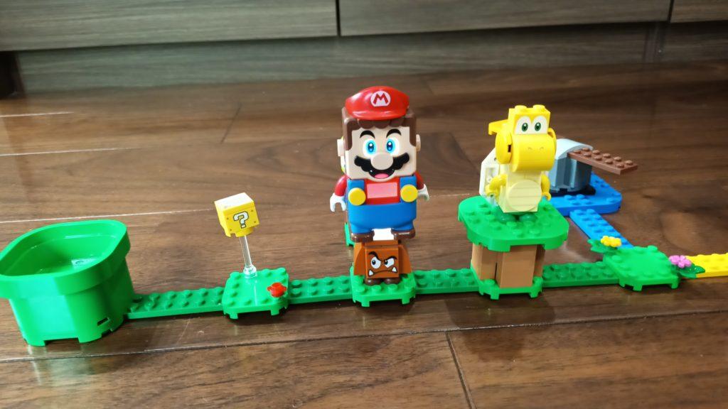 LEGOスーパーマリオ クリボーの倒し方