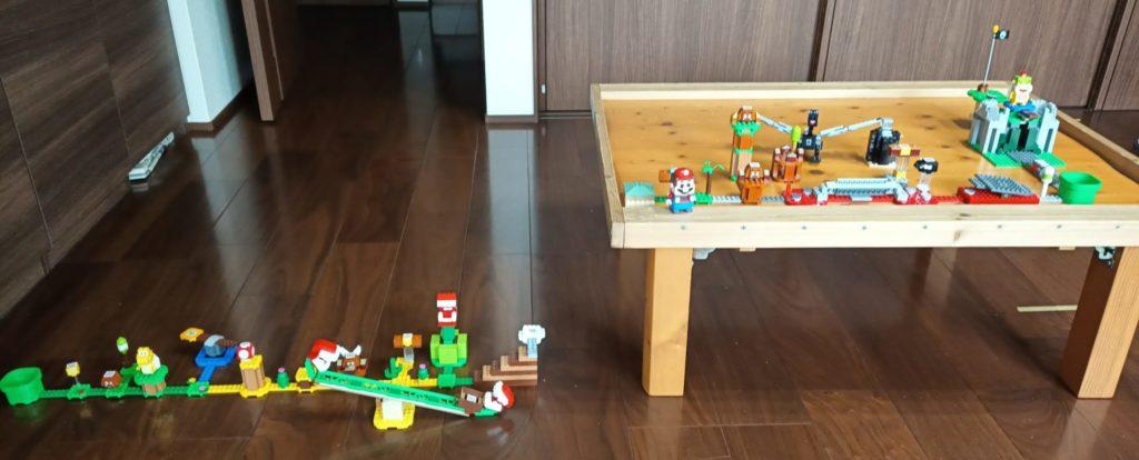 LEGOスーパーマリオの自作コース