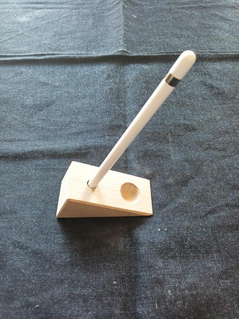 木工DIYで作ったApple Penci立て