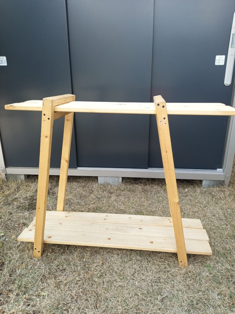 木工DIYで作ったテキーララック
