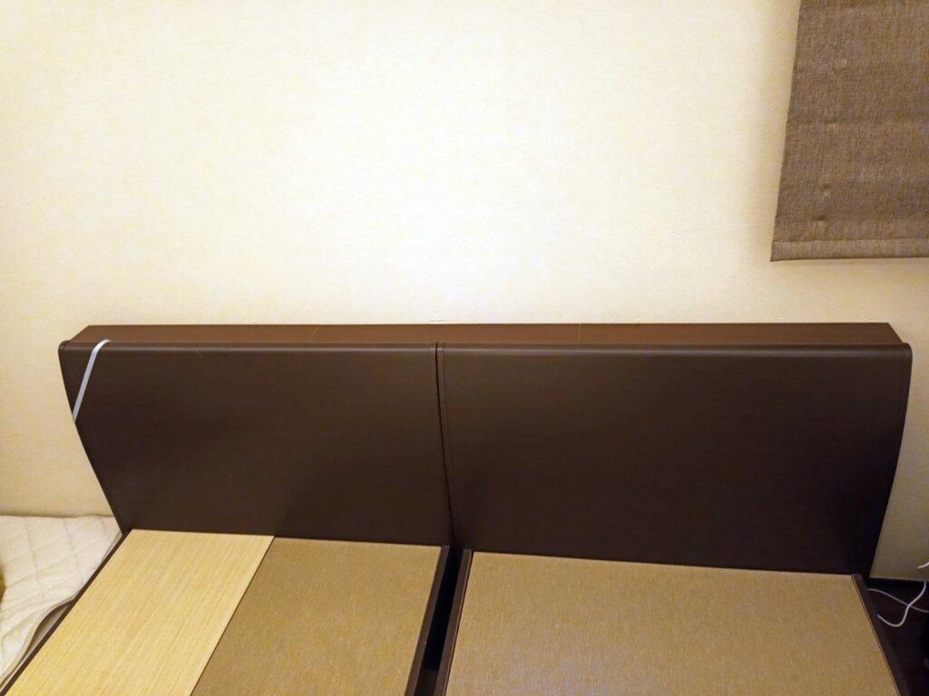 木工DIYで作ったベッド用の棚